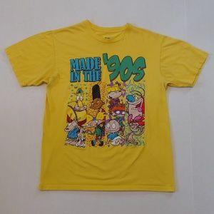 Retro 90's cartoons characters tee
